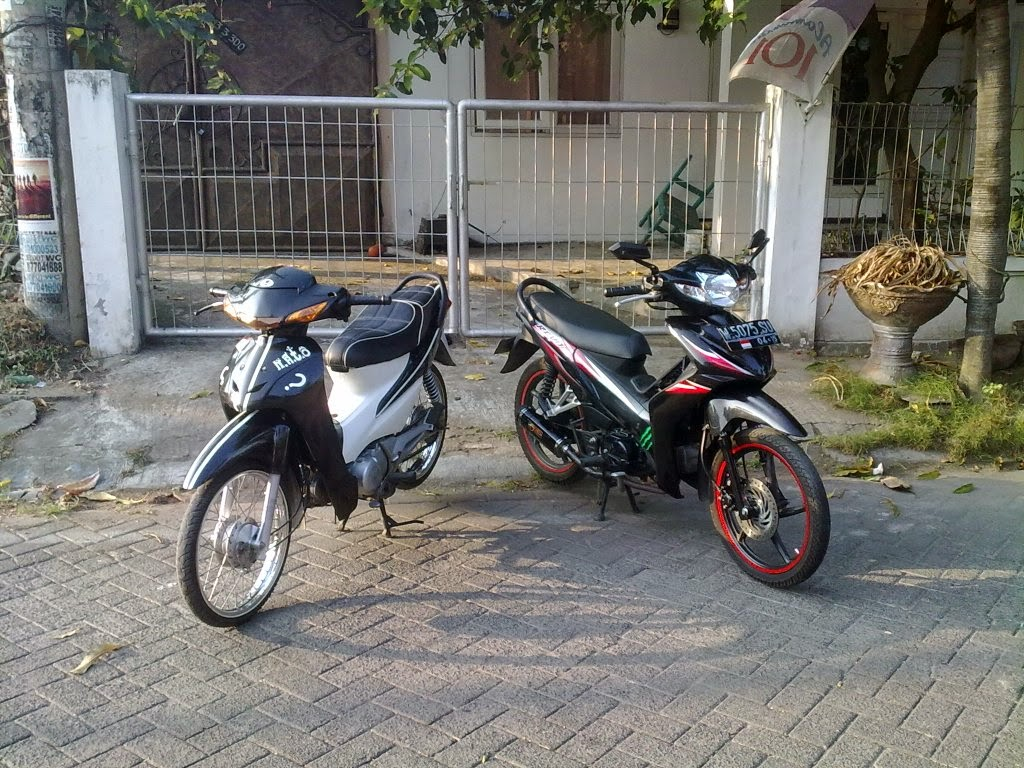 Supra X 125 Modifikasi Balap