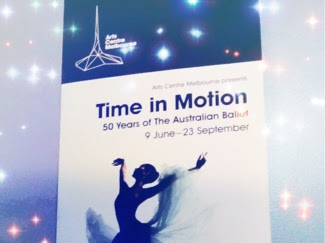 'Time In Motion' Ballet Exhibition in Melbourne & Some Throwbacks