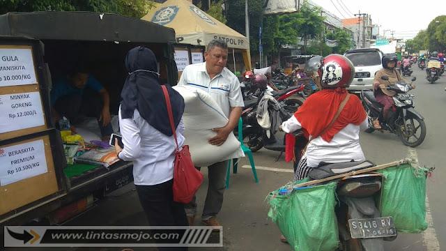 Bulog dan Dinas Perdagangan Kota Mojokerto