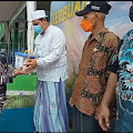 Prajurit Yonmarhanlan III serbu Santri di pondok pesantren Yapsa Bogor untuk di Vaksin