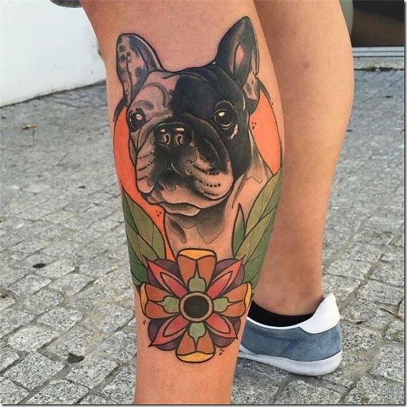 Tatuajes de Hombres en la Pierna (mejores fotos!)