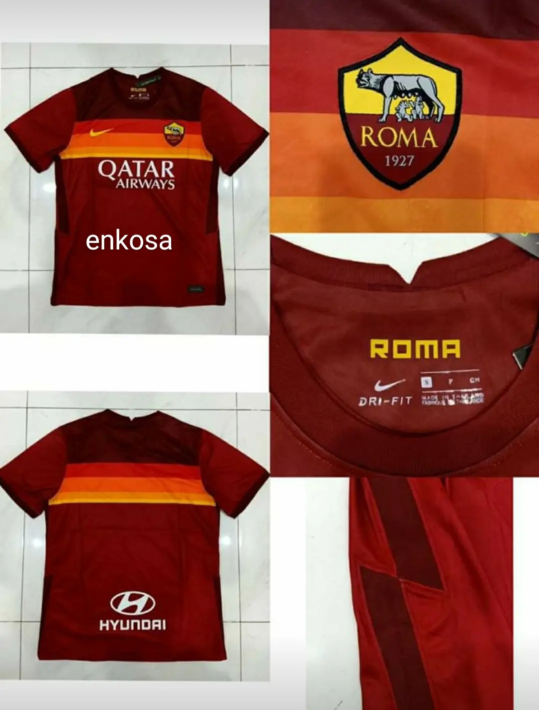 Jual Jersey Leaked As Roma Home 2020/2021