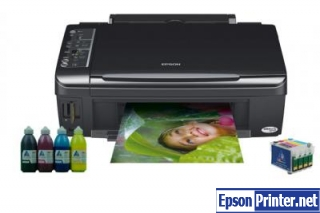 How to reset Epson TX115 by software