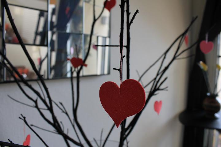 Decoración de San Valentín