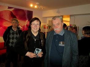 Photo: Kirjailijat - Författarna Nadja Zhandr & Robert Vinonen