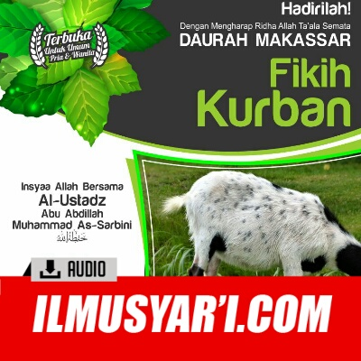 Fiqih Qurban - Ustadz Muhammad Sarbini