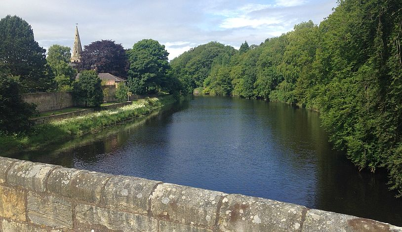 Warkworth mit River Coquet