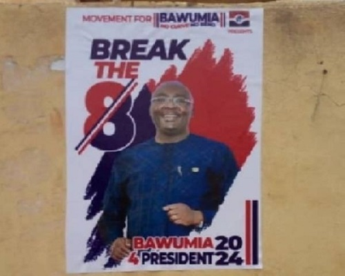 I've Not Endorsed Any 2024 Campaign Posters – Bawumia