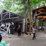 story centre at the Capilano Suspension Bridge in North Vancouver, British Columbia, Canada