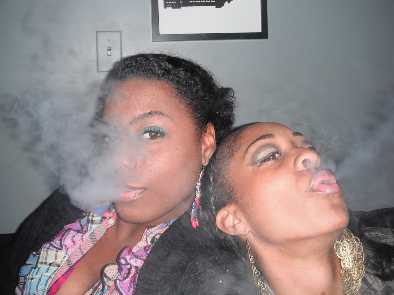 Weekend Recap: Hookah & Belly Dancing w/ the Bestie