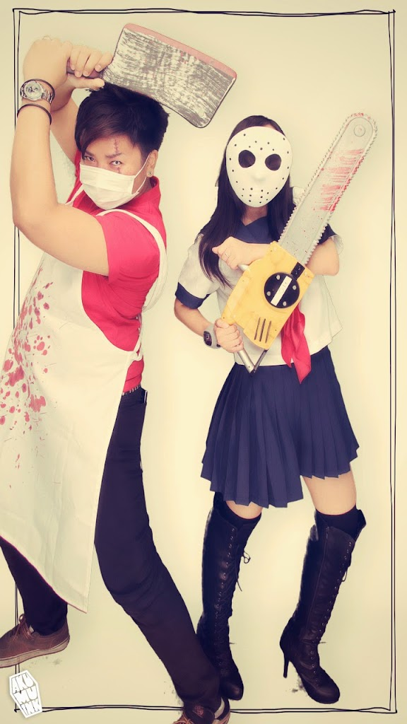 akumuink cosplay, tokyo revenge, japan cosplay, horror cosplay, nightmare cosplay, akumuink, akumu, butcher cosplay, schoolgirl cosplay horror schoolgirl