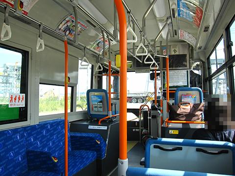 JR東日本「大船渡線BRT」 1763 車内