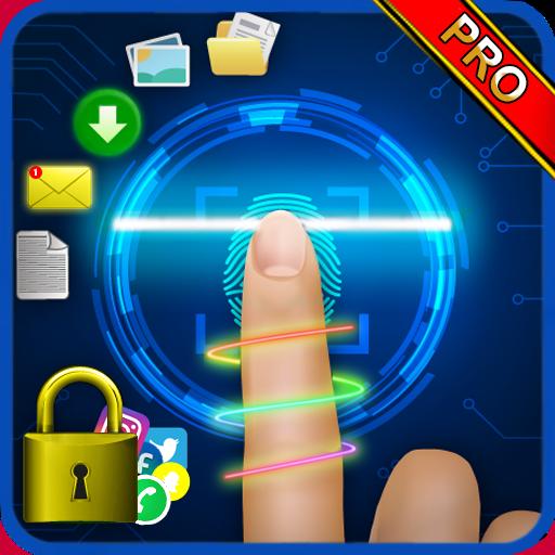 Applock Pro Finger simulated
