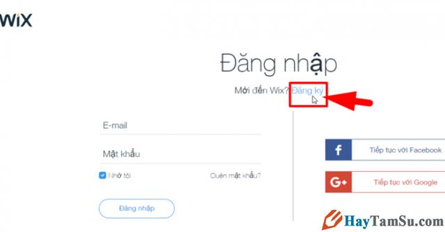 Hướng dẫn bạn đọc cách tạo Website miễn phí với Wix.com + Hình 3