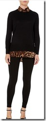 Lauren Ralph Lauren black stretch leggings