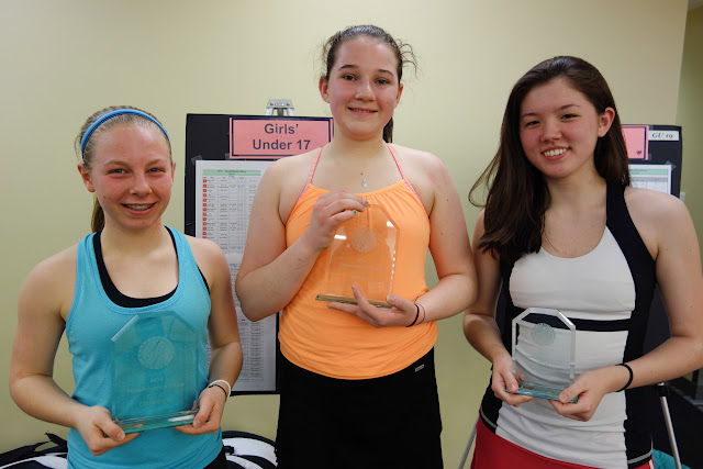 GU 17: Champion - Sarah Willwerth (Hanover, NH); Finalist - Bunny Fox (Wellesley, MA); 3rd place - Michelle Walsh (ChestnutHill, MA)