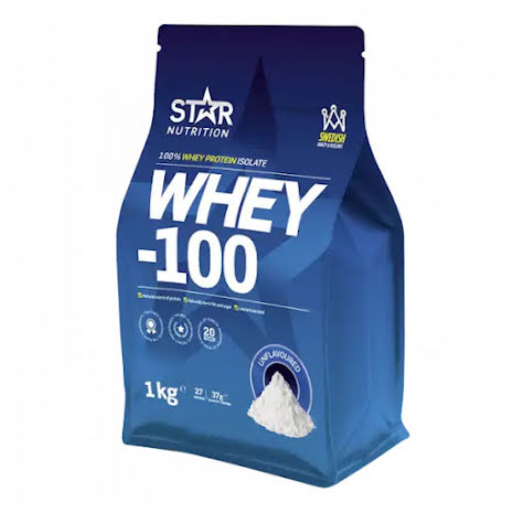 Star Nutrition Whey-100 1kg - Natural