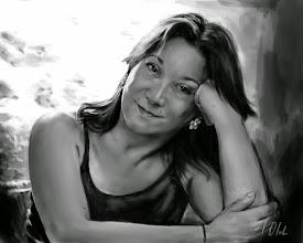 Photo: Pilar, dibujo digital