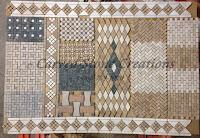 Mixed-Marble Combination Mosaic