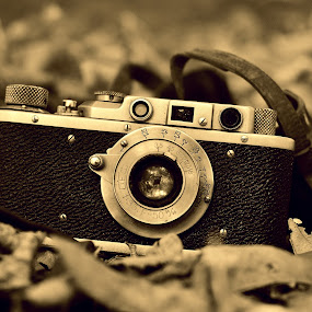 Old camera by Ion Alexandra - Products & Objects Technology Objects ( old camera, film photo camera, photography,  )