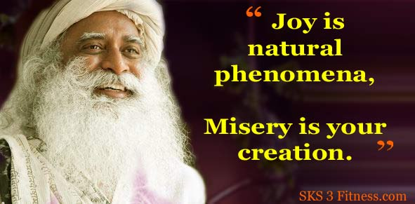 Sadhguru Quotes on Joy