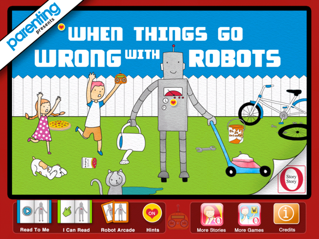 RobotsCover O Story Story Reading Apps