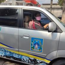 Tangani Covid-19, Nakes Asal Sleman Ini Kemudikan Sendiri Ambulance