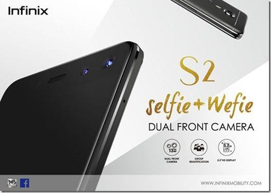 Infinix S2 Pro X522 dengan Dual Kamera Depan Diluncurkan, Ini Harganya