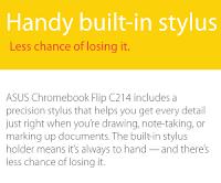 Stylus Pen ASUS Chromebook Flip C214MA
