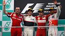Podium 2012 F1 GP of Malaysia