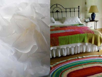 PUERTA AL SUR: Mantas tejidas de diversos colores le dan alegría ...