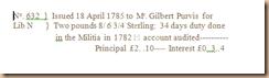 Gilbert Purvis Stub Indent