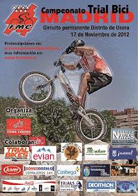 El Campeonato de Madrid de Trial Bici se disputará el 17 de noviembre