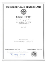 Photo: GLAVIVA is a registered trademark ® by Wolfgang Dehmel at the DPMA Germany GLAVIVA ist eine eingetragene Marke ® von Wolfgang Dehmel beim DPMA
