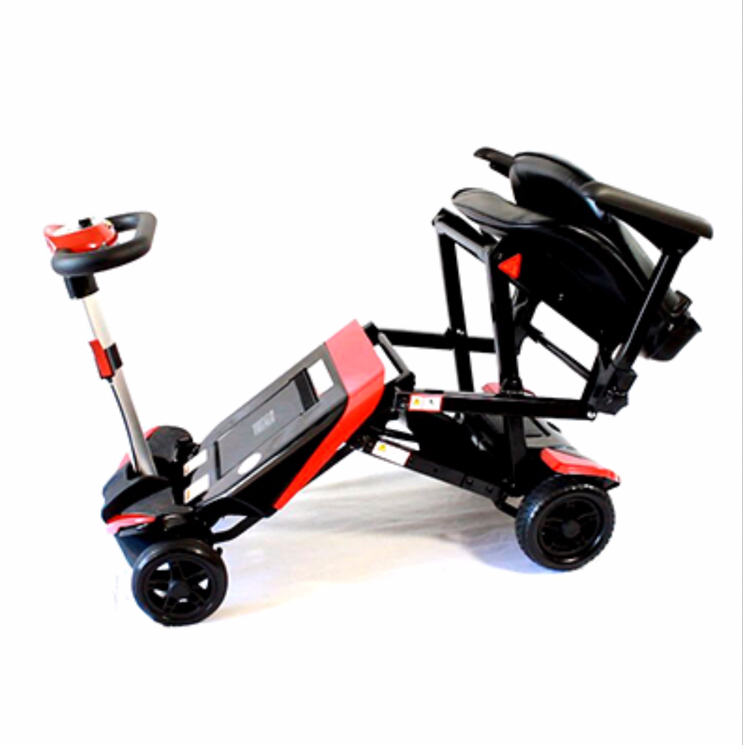 access mobility equipment small automatic folding mobility scooter. Black Bedroom Furniture Sets. Home Design Ideas