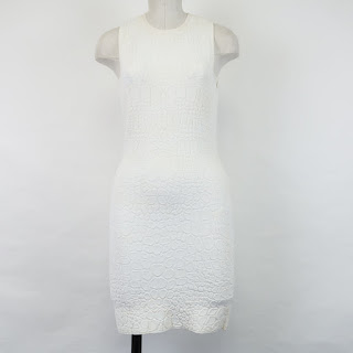 "*SALE* Alexander McQueen White ""Scale"" Dress"