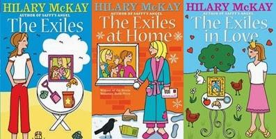 The Exiles by Hilary McKay: The Exiles, The Exiles at Home and The Exiles in Love