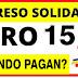 ¿Cuándo se pagará por última vez el giro de Ingreso Solidario?