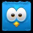 Icono Twitter cuadrado