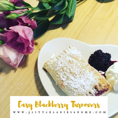 easy blackberry turnovers recipe