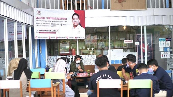 Waket DPRD Kalsel Sosialisasi Perda Kepemudaan di Tanah Bumbu