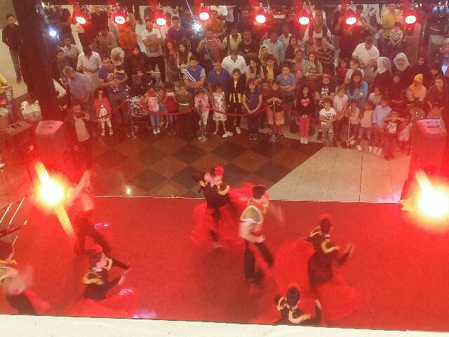 Dalma Mall Dance show