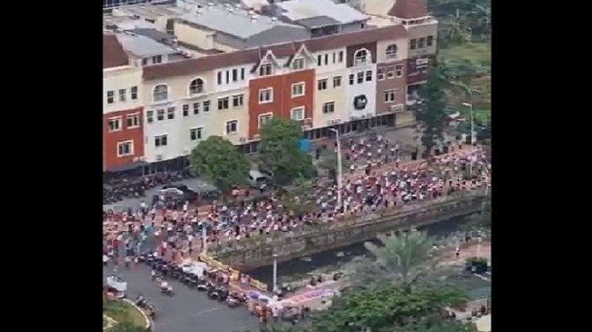 Sempat Dikira Hoax, Begini Fakta Kerumunan Senam Massal di Puri Indah