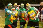 Ninja Turtle Warriors! They ran in Julie's heat.