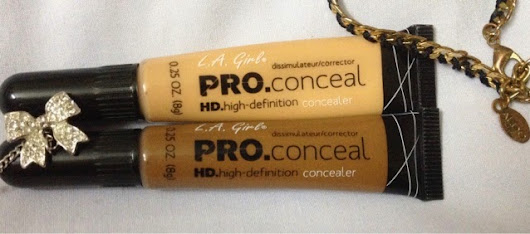 LA Girl Pro Conceal HD Review ,Swatches
