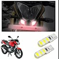 Power Silicone Red Led Parking Bulbs