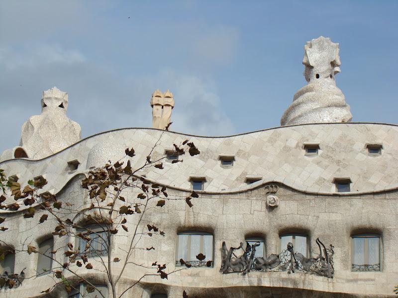 Gaudi, La Pedrera, Casa Mila, Barcelona, elisaorigami, travel, blogger, voyages