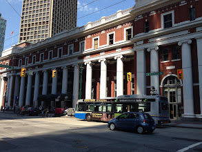 Photo: Waterfront Station Barott, Blackader & Webster 1914  Hawthorn Mansfield Towers Architects 1978