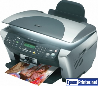 Download reset Epson RX510 printer program