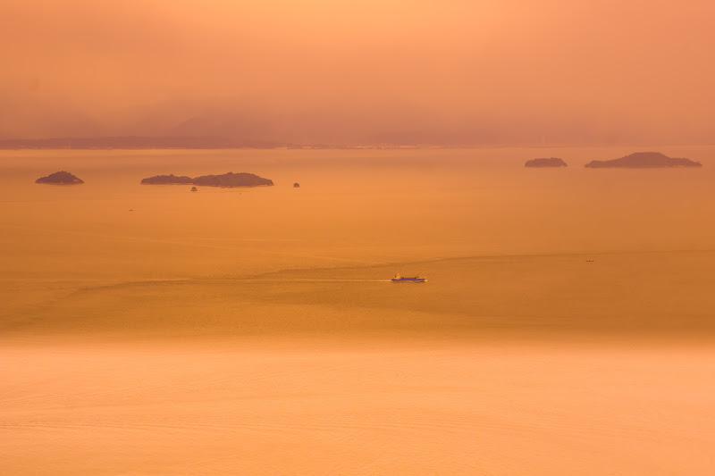 亀老山展望台 来島海峡 2